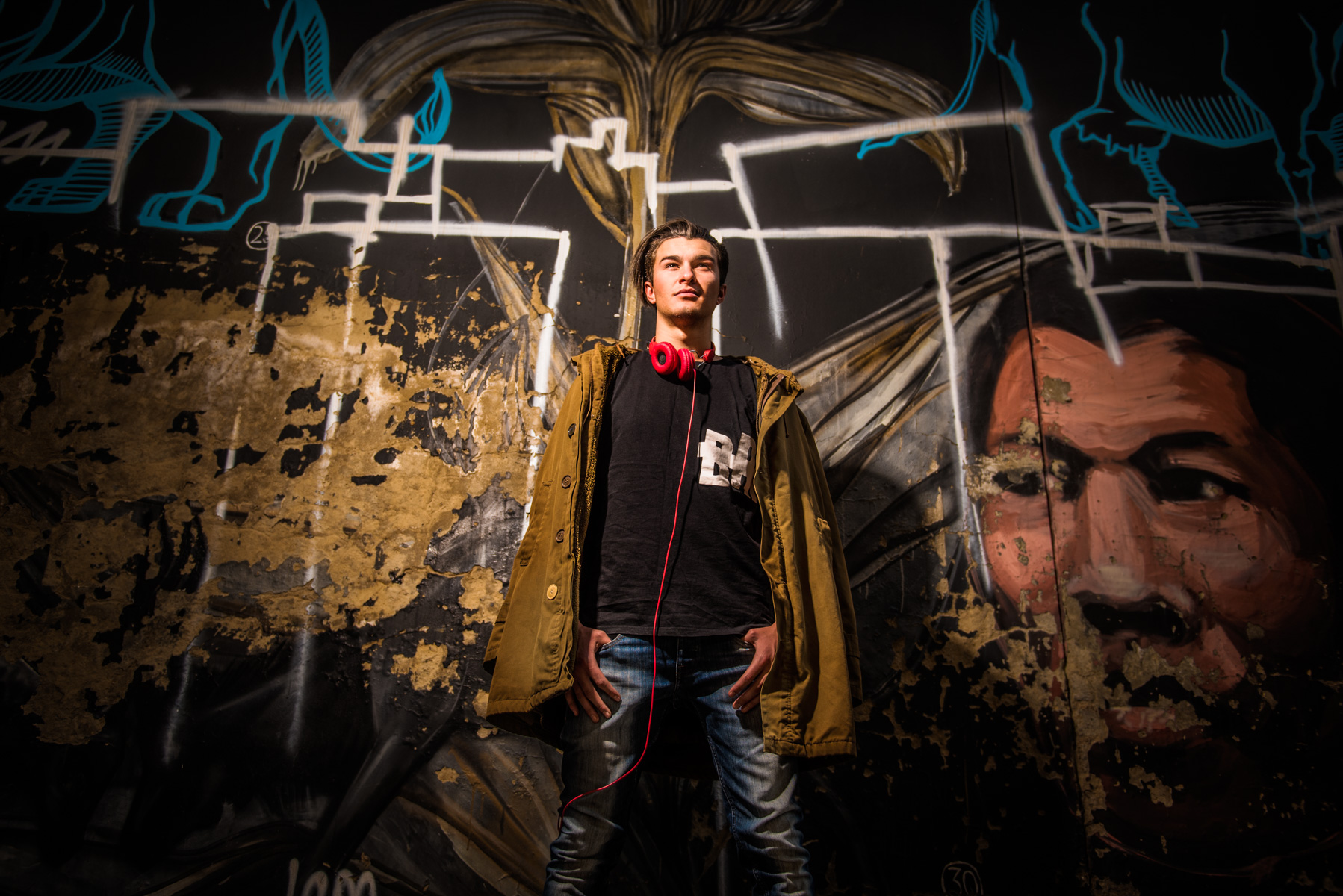 On-Location Model Shoot with Dylan Cade – Newtown, Johannesburg